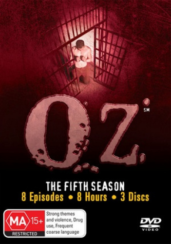 Oz-The-Fifth-Season-Region-4-DVD-New-Free-Shipping