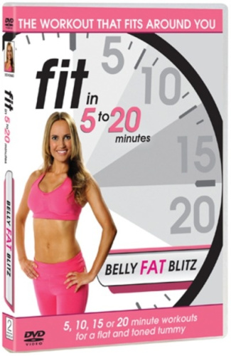 Fit-in-5-to-20-Minutes-Belly-Fat-Blitz-Region-2-DVD-New-Free-Shipping