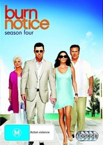 Burn-Notice-Season-4-Region-4-DVD-New-Free-Shipping