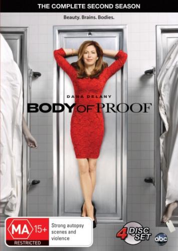 Body-of-Proof-Season-2-Region-4-DVD-New-Free-Shipping