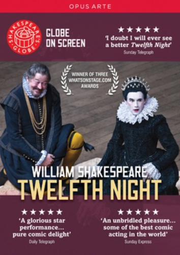 Twelfth-Night-Shakespeare-039-s-Globe-Region-2-DVD-New-Free-Shipping