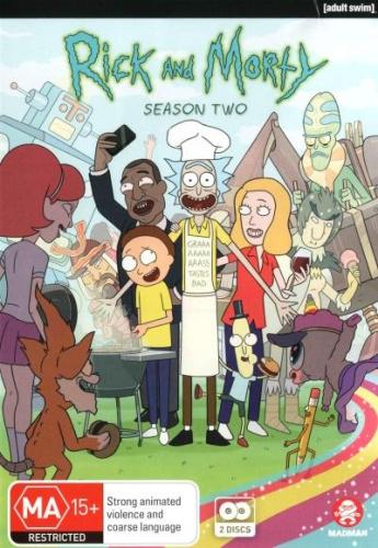 Rick-and-Morty-Season-2-Region-4-DVD-New-Free-Shipping