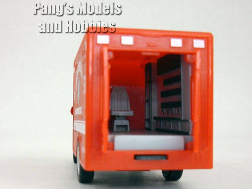13cm-Chicago-RED-Ambulance-Model-KinsFun-Shipping-is-Free thumbnail 4