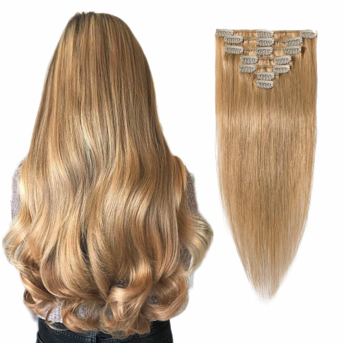 S-noilite-15-60cm-Clip-in-Human-Hair-Extensions-100-Silky-Straight-Human-Remy