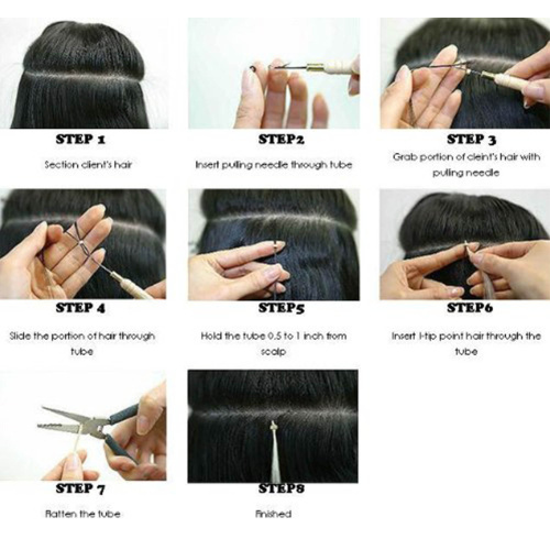 S-noilite-I-Tip-Hair-Extensions-100-Strands-Pre-Bonded-Stick-Tip-Keratin-Real thumbnail 4
